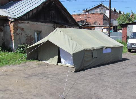 Палатка лагерная 4-х местная 4ППП10 базовая