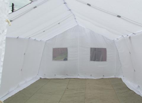 Палатка каркасная экспедиционная М10