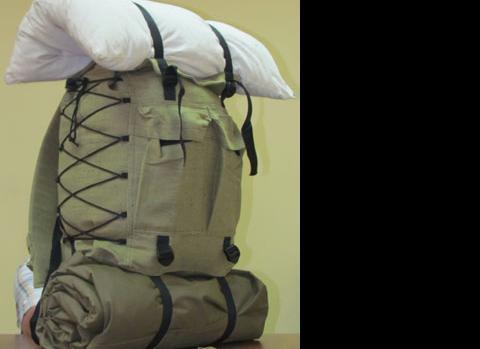 Рюкзак вещевой М90 (35л) с пенкой (брезентовый)