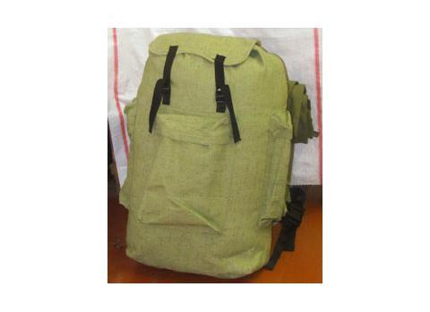 Рюкзак вещевой (75л) с пенкой (брезентовый)